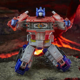 Transformers War for Cybertron: Kingdom - Leader Class Optimus Prime Trailer