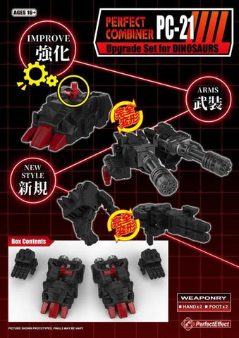 Perfect Effect - PC-21 Power of the Primes Dinobots Upgrade Set
