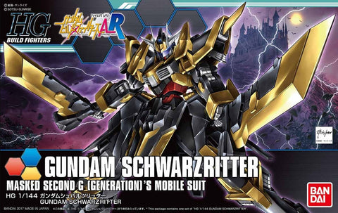 High Grade Build Fighters 1/144 - 055 Gundam Schwarzritter