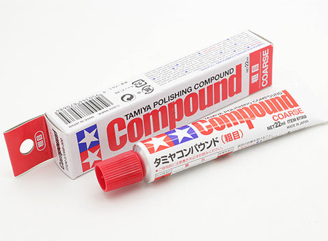 Tamiya - 87068 Polishing Compound: Coarse