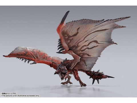 Bandai - S.H.Monsterarts Monster Hunter World: Rathalos