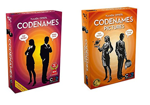 Czech Games Edition - Codenames & Codenames: Pictures Bundle