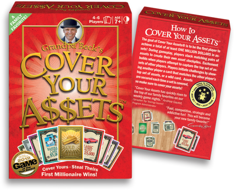Grandpa Beck's Games: Grandpa Beck's Cover Your Assets
