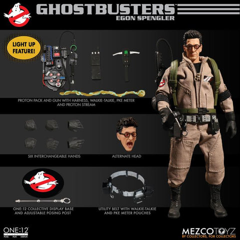 Mezco Toyz - One:12 Ghostbusters Deluxe Box Set of 4