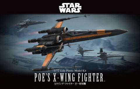 Bandai - Star Wars Model - Poes X-Wing Fighter