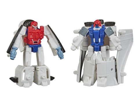 Transformers Earthrise - Micromaster: Fuzer & Blast Master