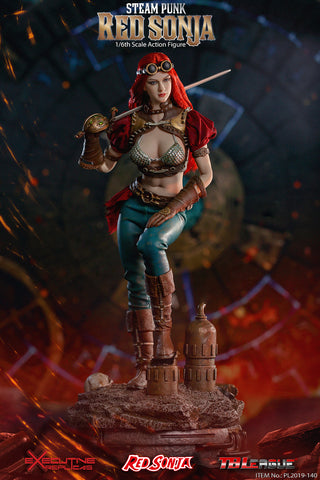 TBLeague - Steam Punk Red Sonja Deluxe Version