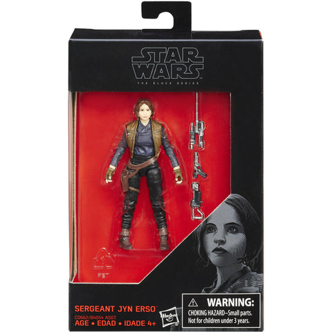 Star Wars the Black Series - Wave 10 - Sergeant Jyn Erso