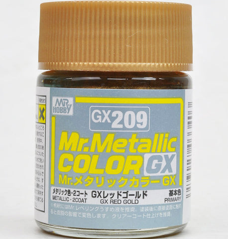 Mr Metallic Color GX209 red Gold