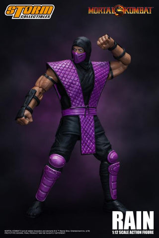 Storm Collectibles - Mortal Kombat VS Series: Rain 1/12 Scale NYCC 2018 Exclusive