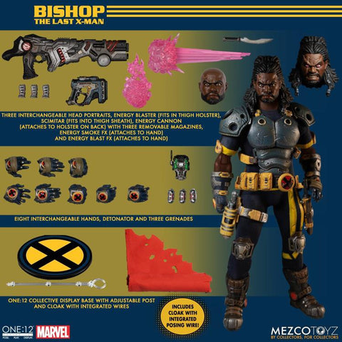 Mezco Toyz - One:12 X-Men: Bishop