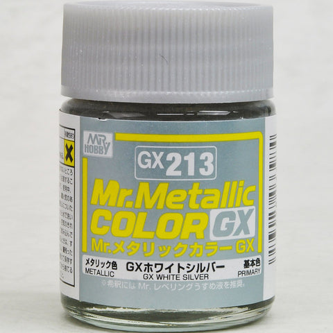 Mr Metallic Color GX213 White Silv