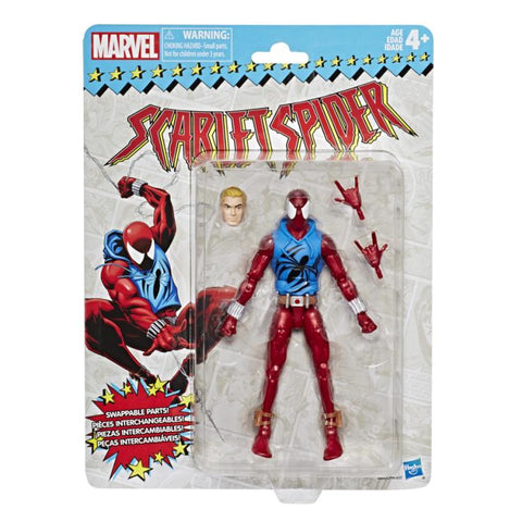 Marvel Legends - Super Heroes Vintage Series: Scarlet Spider