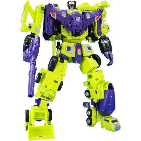 Transformers Unite Warriors - UW-04 - Devastator (Reissue)