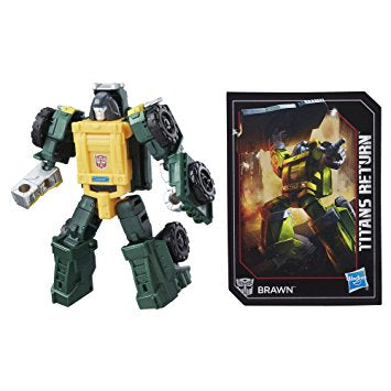 Transformers Generations Titans Return - Legends Class - Brawn