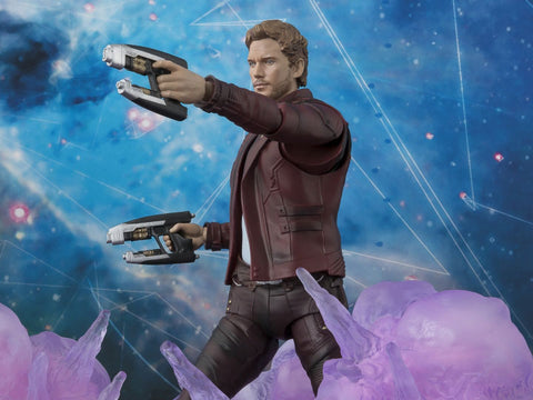 Bandai - S.H.Figuarts - Guardians of the Galaxy Volume 2 - Star-Lord and Explosions Set