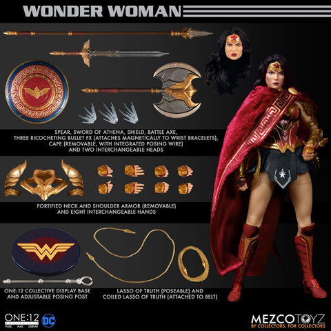 Mezco Toyz - One:12 DC Comics Wonder Woman