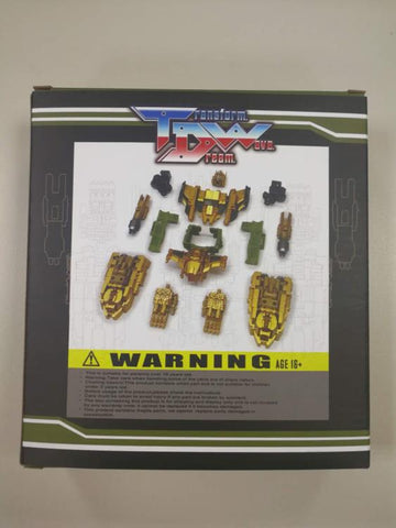 Transform Dream Wave - TCW-01B Bruticus Add-On Set