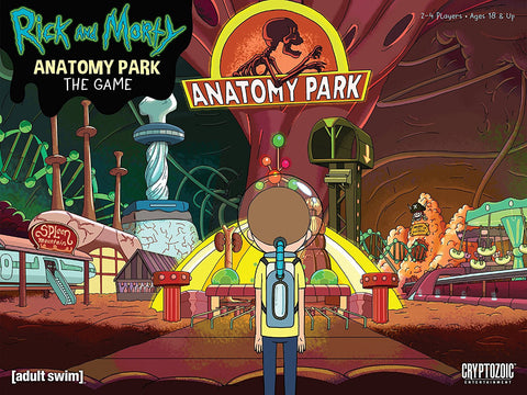 Cryptozoic Entertainment - Rick and Morty: Anatomy Park The Game