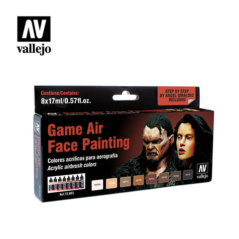 Vallejo - Game Air: Face Painting Set