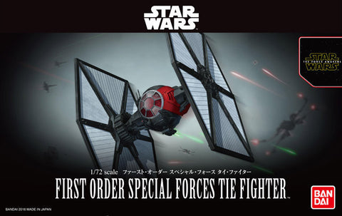 Bandai - Star Wars Model - First Order Special Forces Tie Fighter