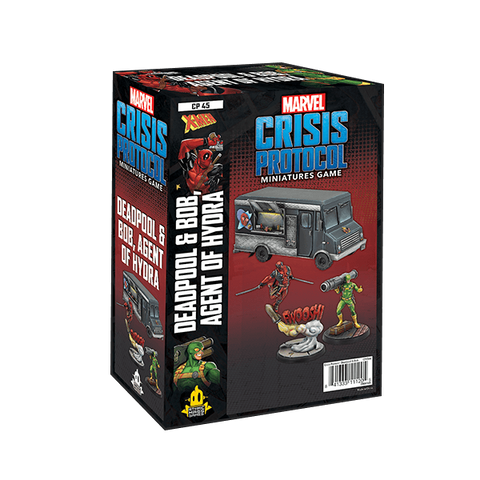Atomic Mass Games - Marvel Crisis Protocol: Deadpool and Bob, Agent of Hydra Character Pack