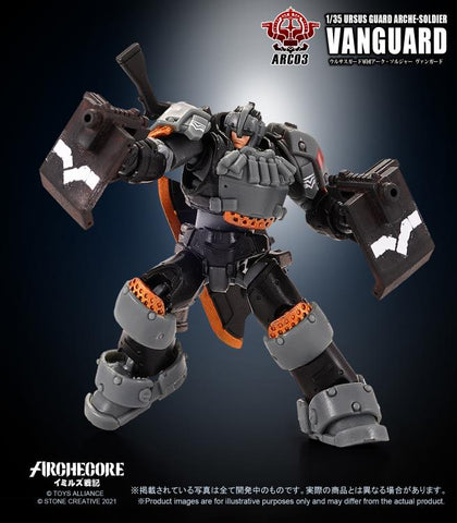 Toys Alliance - Archecore: ARC-03 Ursus Guard Arche-Soldier Vanguard