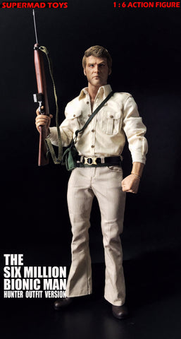 Supermad Toys - The Six Million Bionic Man - Hunter Outfit Version