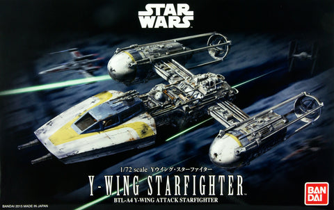 Bandai - Star Wars Model - Y-Wing Starfighter