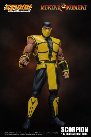 Storm Collectibles - Mortal Kombat 3: Scorpion 1/12 Scale SDCC 2019 Exclusive