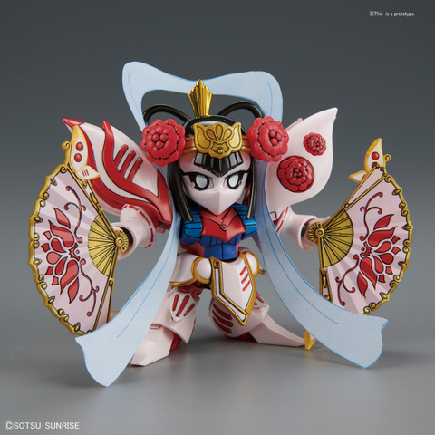 BB-412 DiaoChan Qubeley & General's Palanquin