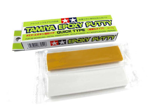 Tamiya - 87051 Epoxy Putty: Quick Type