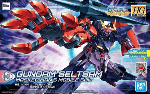 High Grade Build Divers Re:Rise 1/144 - 009 Gundam Seltsam