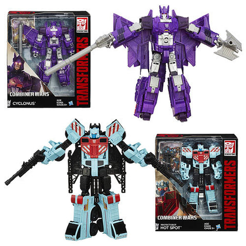 Transformers Generations Combiner Wars Voyager Wave 3 - Set of 2