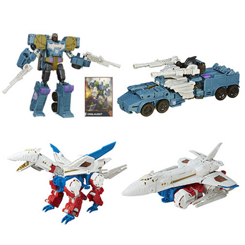 Transformers Generations Combiner Wars Voyager Wave 6