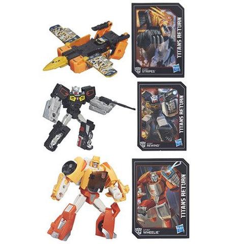 Transformers Generations Titans Return - Legends Class Wave 1 - Set of 3