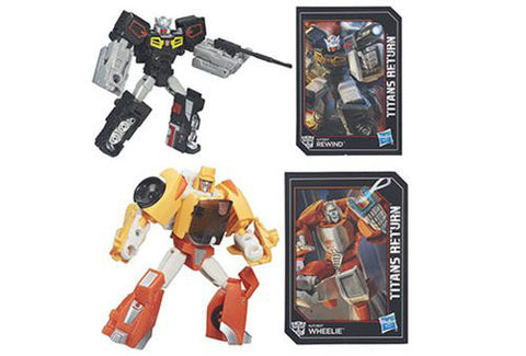Transformers Generations Titans Return - Legends Class Wave 1 - Set of 2