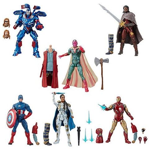 Marvel Legends - Avengers Endgame Wave 3 set of 6