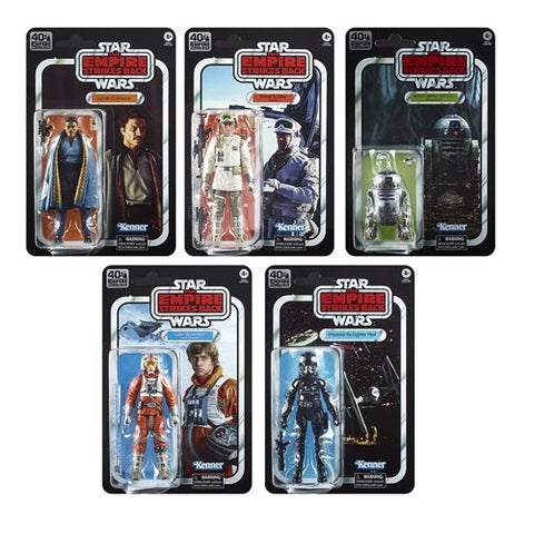 Star Wars the Black Series - Empire Strikes Back 40th Anniversary Wave 2 Set of 5