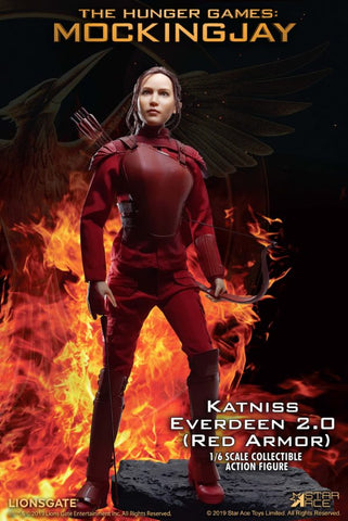 Star Ace - The Hunger Games Mockingjay - Katniss Everdeen 2.0 (Red Armor)