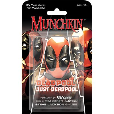 SJG - Munchkin: Deadpool Just Deadpool Expansion