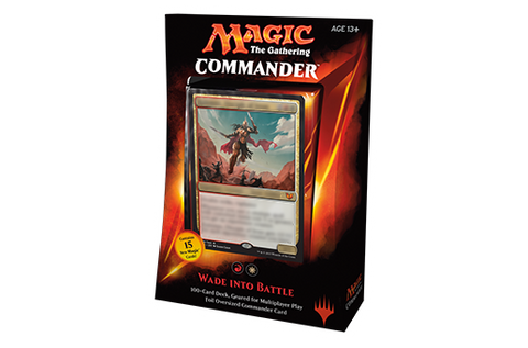 Magic The Gathering - Commander Deck 2015: Wade Into Battle