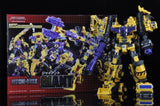 MakeToys - MT Combiner - Yellow Giant - SIx Piece Gift Set