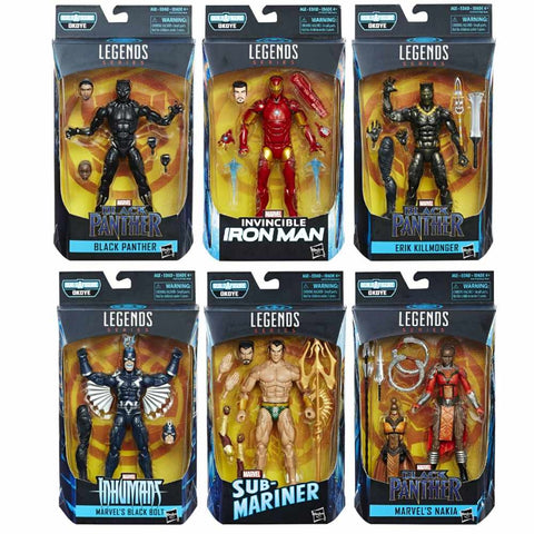 Marvel Legends - Black Panther - Set of 6