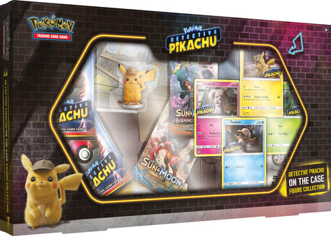 Pokemon TCG - Detective Pikachu: On the Case Figure Collection