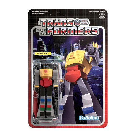 Transformers X Super 7 - Transformers ReAction: Grimlock