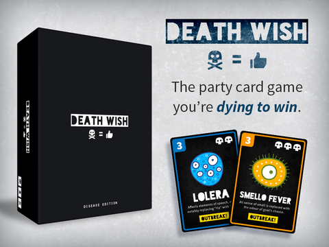 Zafty - Death Wish Card Game