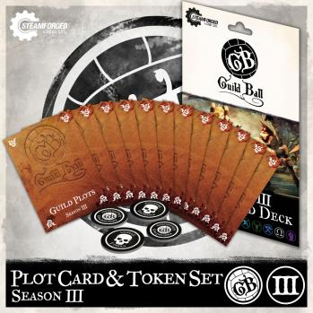 SFG - Guild Ball: Season 3 Pilot Card & Tokens