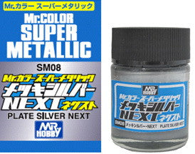 Mr. Color Super Metallic - Plate Silver Next (SM08)