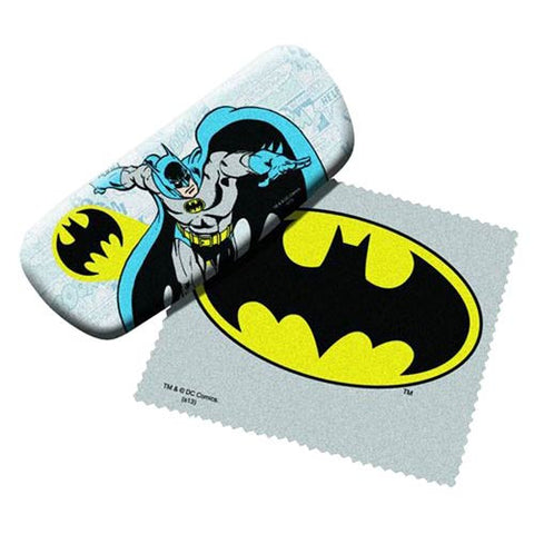 Spoontiques - Batman Eyeglasses Case w/ Cleaning Cloth
